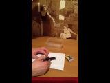Как покрасить пластырь в упаковке в черный цвет и затем сжечь его